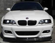 BMW E46 M3 Front Cup Lip Spoiler DTMFiberWerkz Carbon