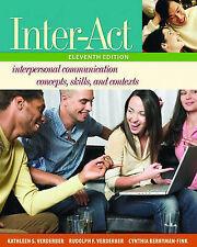 Inter-Act: Includes Inter-Action! CD, Verderber, Kathleen S. & Verderber, Rudolp
