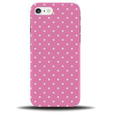 Baby A Pois Rosa Custodia Cover   tratteggiata puntini e Bianco & design pattern c100