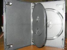 Sale! 100 SLIM MULTI 3 TRIPLE DVD CASE BOXES PSD56