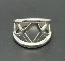 Sterlingsilber ring band massiv  925 R000715 Empress