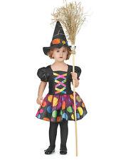 Déguisement sorcière colorée fille Cod.233008