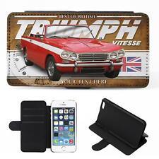 Personnalisé TRIUMPH VITESSE iPhone Flip Case Classic Voiture Housse De Téléphone CL56