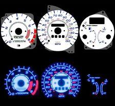 NEW 92-95 Mazda MX-3 MX3 w/ RPM Blue Indiglo Glow White Gauges 92 93 94 95