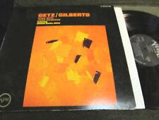 GETZ/GILBERTO LP ANTONIO CARLOS JOBIM VERVE '64 JAPAN!