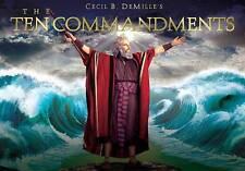 The Ten Commandments (Six-Disc Limited Edition Blu-ray/DVD Combo Gift Set) DVD,