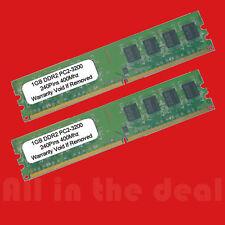 2GB KIT 2X1GB PC3200 DDR2 400MHZ LOW DENSITY RAM MEMORY