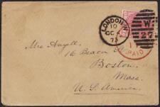 """Uk 1873 """"London Duplex W/27"""" Tying 3d Rose Plate Ii"""