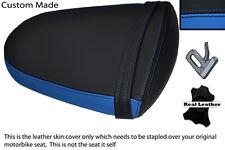 Negro Y Azul personalizado se adapta a Suzuki Gsxr 1000 05-06 K5 K6 Trasero necesidades cubierta de asiento