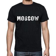 moscow Tshirt, Homme Tshirt Noir, Mens Tshirt black, Cadeau, Gift