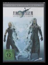 DVD FINAL FANTASY VII 7 - ADVENT CHILDREN - 2 DISC SET - SPECIAL EDITION * NEU *