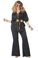 Disco Dazzler Plus Size Adult Costume 3 Sizes