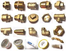 Verschraubung Messing Gewindefitting Schraubfitting Reduzierung Rohr Fitting