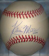 Kevin Maas New York Yankees Oal Signed Baseball Coa