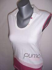 TEE SHIRT femme sans manches neuf Puma taille 38 ou 40 blanc - vieux rose