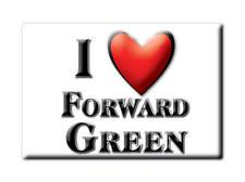 SOUVENIR UK - ENGLAND MAGNET UNITED KINGDOM I LOVE FORWARD GREEN (SUFFOLK)