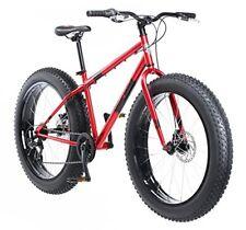 Mongoose Dolomite Fat-Tire Bike 26 wheel size 18 frame Mountain Bicycle pk color