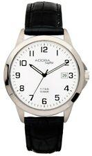 Men's Wristwatch Quartz Analog Titanium Date Adora Sapphire 29081