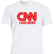 CNN FAKE NEWS, Trump Support T-SHIRT,S,M,L,XL,2X,3X,4X,5X,T-1199wht L@@K!