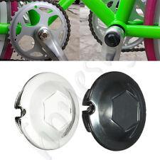 20mm Chrome Bicycle Bike Bottom Bracket Crank Dust Proof Cover Caps New