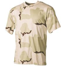Combate Hombres T-Shirt Superior Militar Del Ejército Patrulla Tee 3-Color Deser