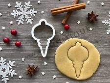 Bauble Xmas Cookie Cutter 04 | Christmas | Fondant Cake Decorating | UK Seller