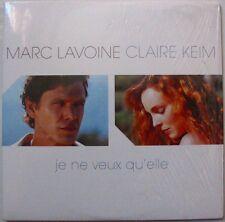 MARC LAVOINE  CLAIRE KEIM  (CD single) JE NE VEUX QU'ELLE