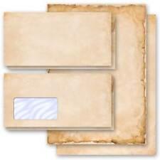 Motiv-Briefpapier-Sets VINTAGE