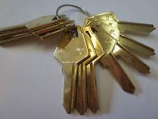 Lot 10 pc XL7 Key Blanks  / XL7 1180S Key Blank / Ilco USA