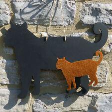 Chalk Blackboard Cat Standing Shape for Memos Notes & Home Decor Pet Animal
