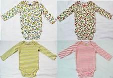 Mini Boden baby soft cotton body bodies bodysuit flower stripe new girls vest