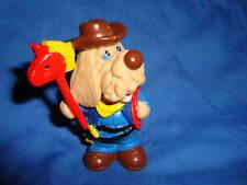 "Wrinkles Ganz Bros PVC Figure Cowboy Dog 2.5"""