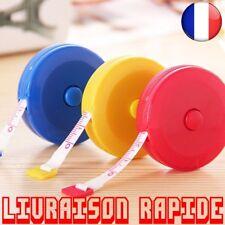 150 cm Mini Ruban À Mesurer Mesure Rétractable Métrique Ceinture Coloré Portable