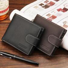 Fashion Men's Leather Wallet Bifold Purse Pocket ID Credit Card Holder RU