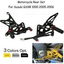 Motor Adjustable Rearset Rear Set Foot Peg Pedal For Suzuki GSXR1000 2005-2006