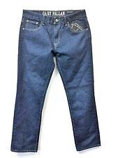 Gary Pallan Original Jeans Denim Stone Blue Men's Pants Straight Leg Casual GP2