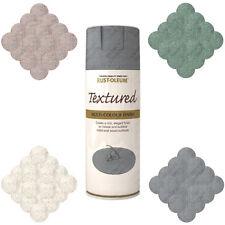 Rust-Oleum Stone Textured Spray Paint Granite Pebble Black Green Bleached Grey