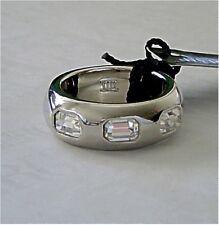 Dyrberg Kern Ring Monte Rhodium / Crystal Grösse 1 = 16 mm Innendurchmesser