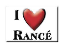 MAGNETS FRANCE - CHAMPAGNE ARDENNE CALAMITA SOUVENIR AIMANT I LOVE RANCÉ (AIN)