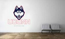 Univ Connecticut Huskies #4 NCAA College Vinyl Sticker Decal Car Window Wall