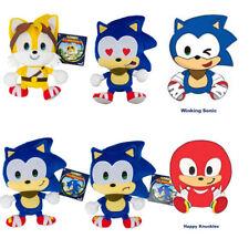 Genuine Brand New SONIC BOOM 8 INCH EMOJI BASIC PLUSH SEGA Knuckles Tails Sonic