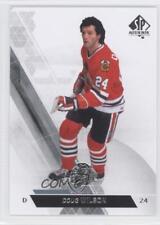 2013-14 SP Authentic #6 Doug Wilson Chicago Blackhawks Hockey Card