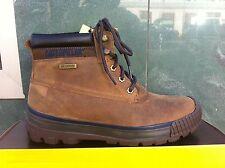 CAT Caterpillar Scarpe stivali boots in VERA PELLE DARK BEIGE CLASSICO NUOVO