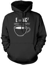 E = ENERGIA mc2 = LATTE x caffè Squared Unisex Felpa Con Cappuccio