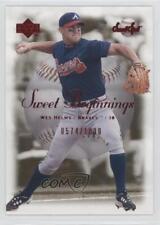 2001 Upper Deck Sweet Spot #80 Wes Helms Atlanta Braves Baseball Card