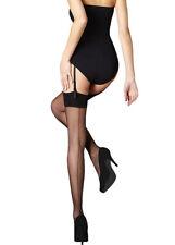 Sheer Back Seam Stockings With Cuban Heel  S/M & M/L * BB/NB * Pretty Legs *15D*