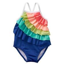 NWT Gymboree Swimsuit Island Hopper Seahorse UPF 50 6-12 18M Baby Girl