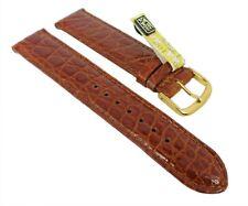 Graf Manufaktur Bahamas Damen Ersatzband echt Krokodil Leder braun 27570