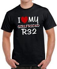 T-SHIRT * I LOVE MY GIRLFRIEND r32 * mk4 mk5 GOLF TUNING 4er 5er GTI satira VW