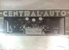 rare PHOTO 1925 voiture CITROEN pneu MICHELIN garage SOUCHET à ROUEN
